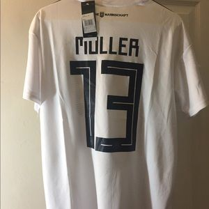 Muller World Cup Germany Jersey